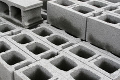 Concrete blocks Royalty Free Stock Image