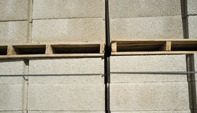 Concrete blocks background Royalty Free Stock Photo