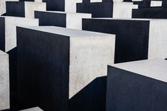 Concrete Blocks-Holocaust Memorial,Berlin,Germmany Royalty Free Stock Photography