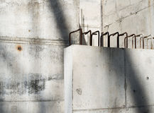Concrete Blocks In The Construction Site Royalty Free Stock Photography