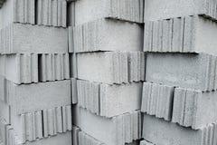 Concrete blocks Stock Images