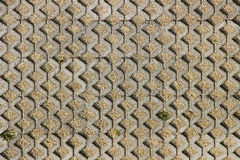 Concrete blocks pattern Royalty Free Stock Photo