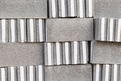 Concrete blocks pattern. On texture Royalty Free Stock Images