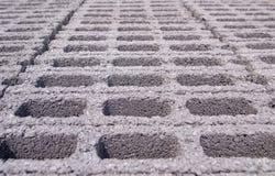Concrete blocks pattern Royalty Free Stock Photo