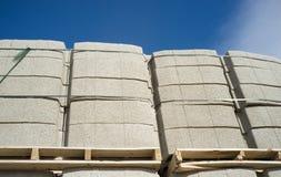 Concrete blocks Stock Photography