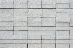 Concrete blocks texture. Texture of concrete blocks in line Stock Images