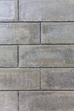 Concrete blocks wall background Royalty Free Stock Photo