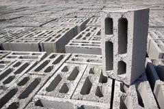 Concrete blokken Stock Foto