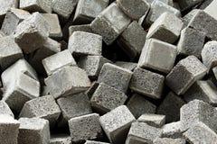 Concrete blokken Stock Afbeelding