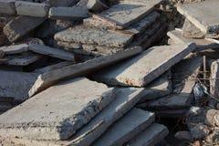 Concrete blokken en stapels Royalty-vrije Stock Foto's