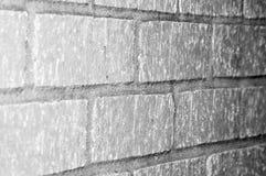 Concrete blokmuur royalty-vrije stock afbeeldingen