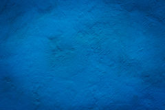 Concrete blue wall texture Stock Photo