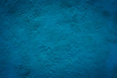 Concrete blue wall texture grunge background Stock Photography