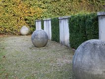 Concrete boulders Stock Photography