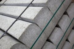 Concrete bouwstenen royalty-vrije stock foto's