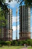 Concrete Bouwwerf Royalty-vrije Stock Afbeeldingen