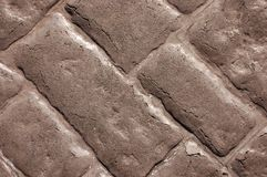 Concrete Brick effect wall texture Royalty Free Stock Photography