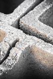 Concrete brick Stock Photography