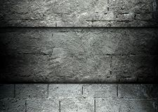 Concrete and brick template background Royalty Free Stock Image