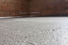 Concrete and brick wall Royalty Free Stock Images