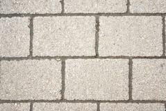 Concrete brick wall. Stone texture on gray brick wall Royalty Free Stock Image