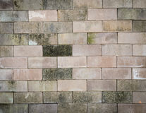 Concrete brick wall background Royalty Free Stock Photography
