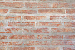 Concrete brick wall. Old brown concrete brick wall bacgruond Stock Image
