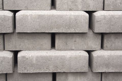 Concrete Bricks Royalty Free Stock Image