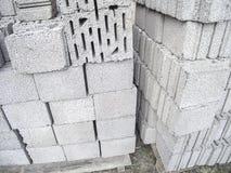 Concrete bricks Stock Photos