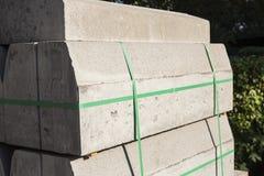 Concrete bricks. Stock Photo