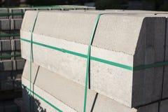 Concrete bricks. Royalty Free Stock Image