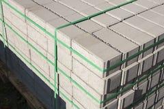 Concrete bricks. Royalty Free Stock Photo