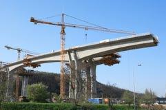 Concrete bridge Royalty Free Stock Image