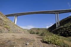 Concrete bridge Royalty Free Stock Photography