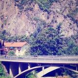 Concrete Bridge Stock Images