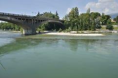 Concrete bridge Stock Photo