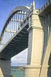 Concrete bridge Stock Photography