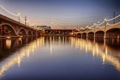 Concrete Bridges Royalty Free Stock Photo