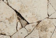 Concrete broken Stock Photography
