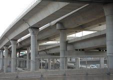 Concrete brug Royalty-vrije Stock Afbeeldingen