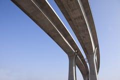 Concrete brug Royalty-vrije Stock Fotografie