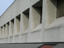 Concrete building Royalty Free Stock Photo