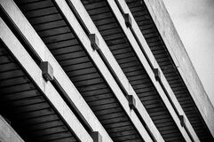 Concrete building Stock Photography