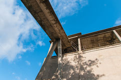 Concrete building. stock image