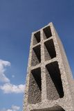 Concrete building block. Abstract vision of a construction block Stock Photography