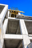 Concrete building cement site workplace Royalty Free Stock Photos