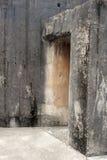 Concrete building entrance Stock Images