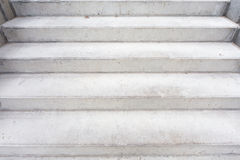 Concrete building stairway composition Royalty Free Stock Photography