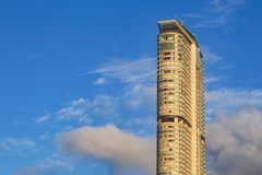 Concrete Building Under Blue Sky royalty free stock photography