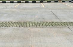 Concrete carpark Stock Photos